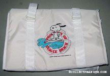 Snoopy on Surfboard Duffel Bag