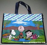 Snoopy, Charlie Brown & Lucy having a picnic Tote Bag