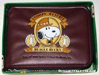 Snoopy Beagle Bucks Wallet