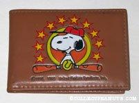Baseball Snoopy Wallet