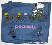 Snoopy and Woodstocks on Bikes