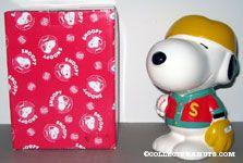 Snoopy in Baseball uniform bank