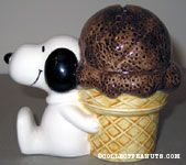 Snoopy with Ice Cream Cone