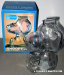 Snoopy Penny Glass Bank