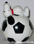 Snoopy on Soccer Ball