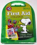 Peanuts First Aid Kit - Green