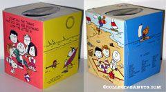 Peanuts Gang on Beach Tissue Box