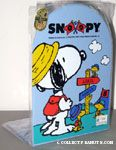 Snoopy & Woodstocks hiking at signpost Bookends