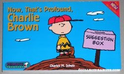 Now, That's Profound, Charlie Brown