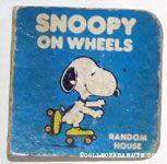 Snoopy on Wheels
