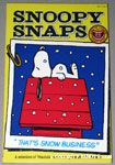 Snoopy Snaps - That's Snow Business