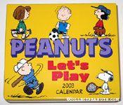 Peanuts Let's Play - 2003