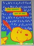 Snoopy listening to Woodstock 1985 Snoopy Day by Day