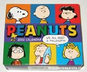 Peanuts 2002 Day-by-Day Calendar