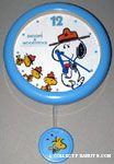 Snoopy & Beaglescouts Pendulum Wall Clock