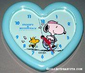 Snoopy & Woodstock jogging Clock
