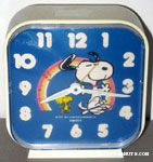 Peanuts & Snoopy Equity Clocks