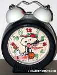 Snoopy playing baseball Alarm Clock
