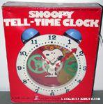 Peanuts & Snoopy Clock Toys