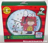 Charlie Brown & Snoopy Christmas Sound Clock