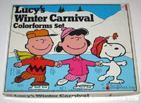 Lucy's Winter Carnival Colorforms Set