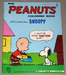 Charlie Brown feeding Snoopy Coloring Book