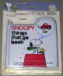 Snoopy Things that Go Book Book