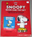 The Snoopy Book & Toy Set - Snoopy on Wheels