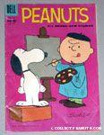 Charlie Brown at Easel