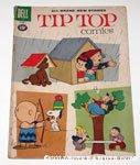 Tip Top Comics Charlie Brown Shooting Apple off Snoopy's Head