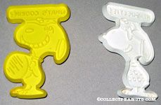 Snoopy and Joe Cool with thought balloons Cookie Cutters