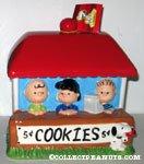 Peanuts Gang Cookie Booth Cookie Jar