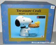 Snoopy Holding Jar Cookie Jar