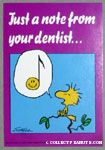 Just a note from your dentist