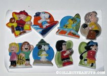 Peanuts Sports King Cake Trinkets Set