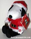 Musical Santa Snoopy Plush