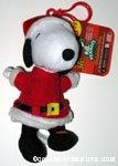 Santa Snoopy Bag Clip