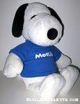 Snoopy wearing Metlife Tee Large Plush