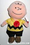 Charlie Brown musical Beanie Doll