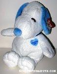 Blue Snoopy musical Plush