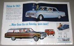 Ford Falcon 1962 Full Color Ad Spread