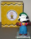Charlie Brown as Milkman Figurine