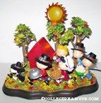 Peanuts Gang Thanksgiving scene Figurine