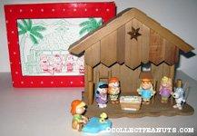 Peanuts Nativity Scene Figurine Set