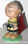 Charlie Brown tied up in Kite Figurine