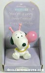 Snoopy with balloon 'Niece' Figurine