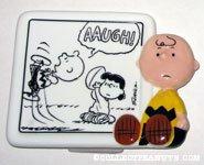 Charlie Brown & Lucy football gag comic Figurine