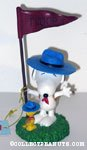 Snoopy & Woodstock Beaglescout Flag Figurine