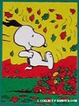 Peanuts & Snoopy Fall & Thanksgiving Flags