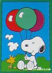Snoopy and Balloons